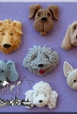 Alphabet Moulds Dogs Heads