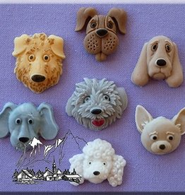Alphabet Moulds Alphabet Moulds Dogs Heads