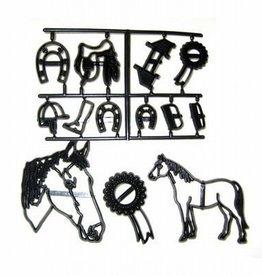 Patchwork Cutters Horse set