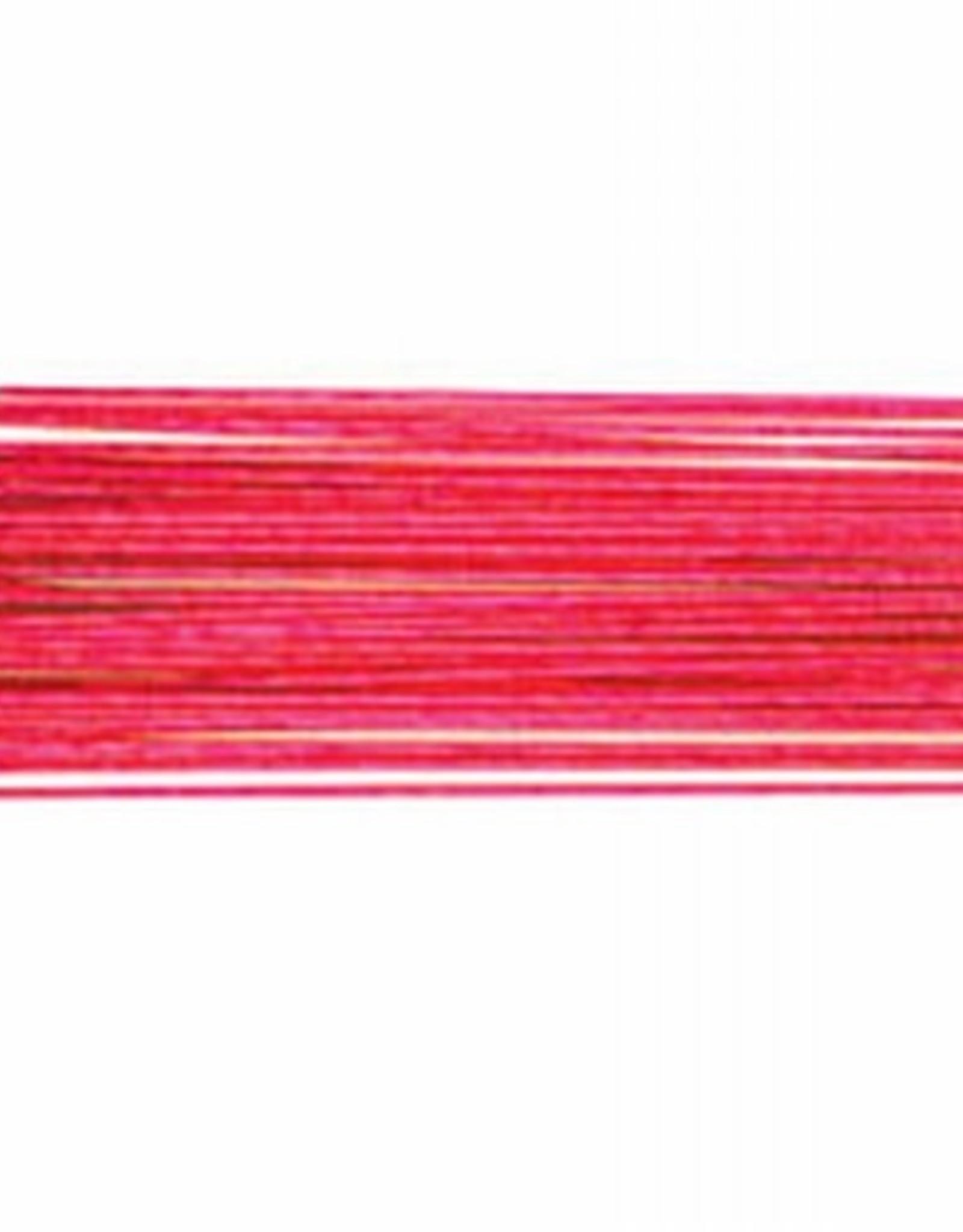 Culpitt Culpitt Floral Wire Metallic Bright Pink set/50 -24 gauge-