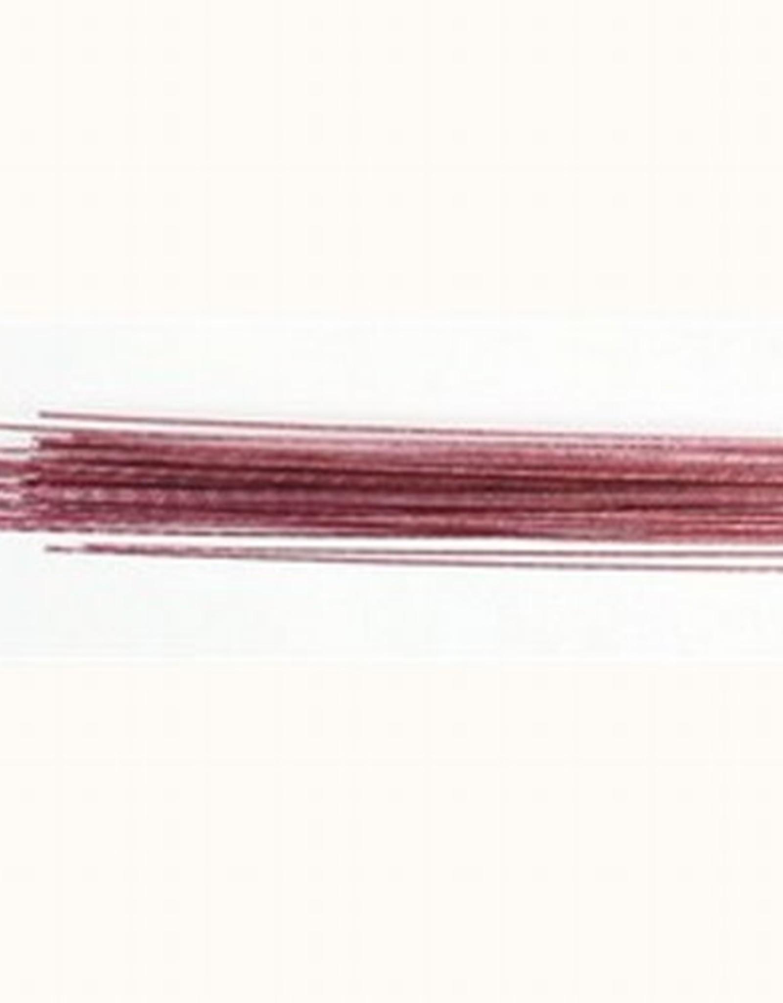 Culpitt Culpitt Floral Wire Metallic Pale Pink set/50 -24 gauge-