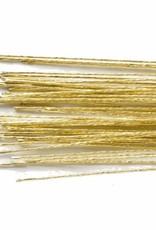 Culpitt Culpitt Floral Wire Gold set/50 -24 gauge-