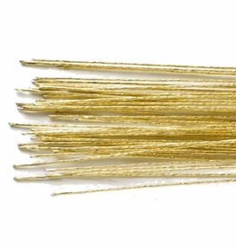 Culpitt Floral Wire Gold set/50 -24 gauge-