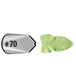 Wilton Decorating Tip #070 Leaf Carded
