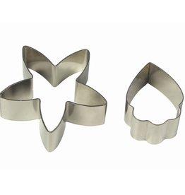 PME Cymbidium Orchid Flow/Petal cutter set/2 -MED-
