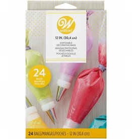 Wilton Wilton Disposable Decorating Bags 30cm, pk/24