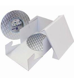 PME PME Cake Box & Round Cake Board(3mm) 25 x 25 x 15cm