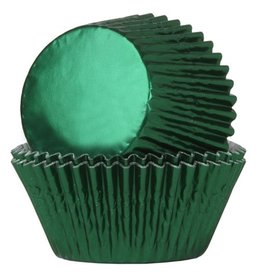 House of Marie House of Marie Baking Cups Folie Groen - pk/24