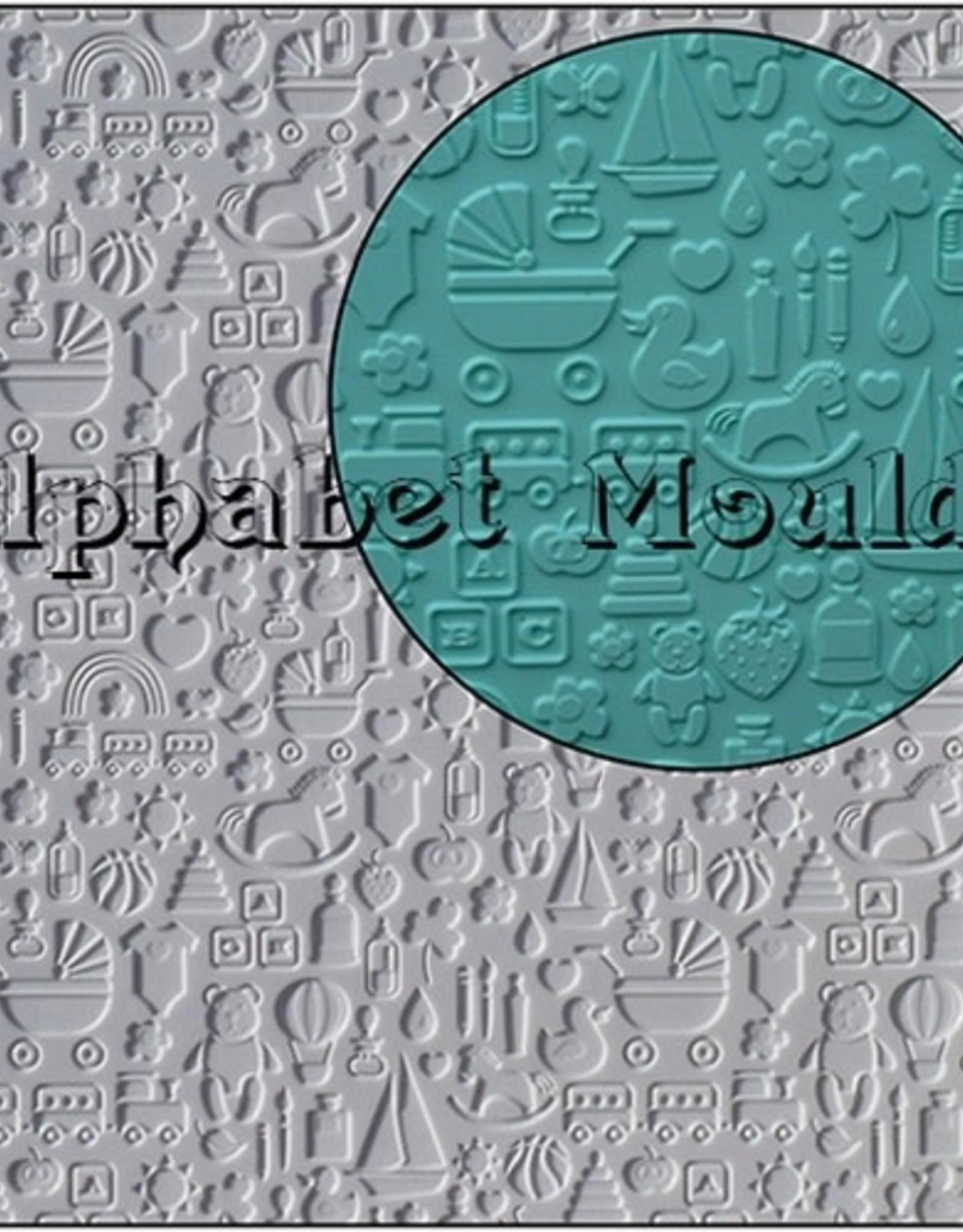 Alphabet Moulds Alphabet Moulds Nursery Mat