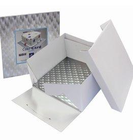 PME Taartdoos & Cake Board 22,5x22,5x 15cm