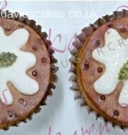 Karen Davies Karen Davies Cupcake Top mould - Christmas Pudding -