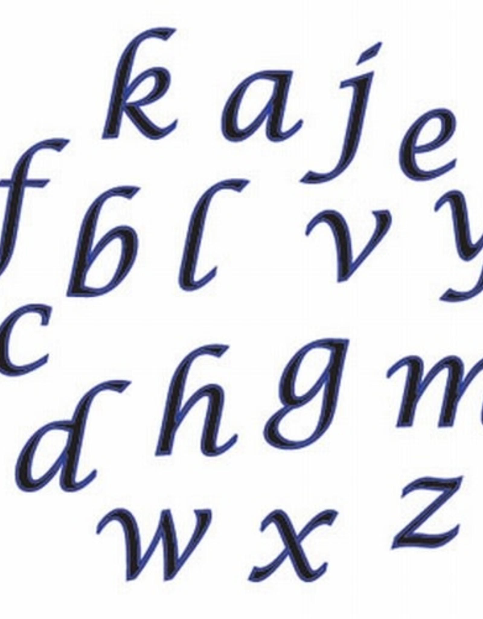 FMM FMM Alphabet Tappits Lower Case SCRIPT