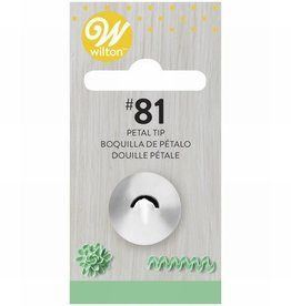 Wilton Decorating Tip #081 Specialty Tip Carded