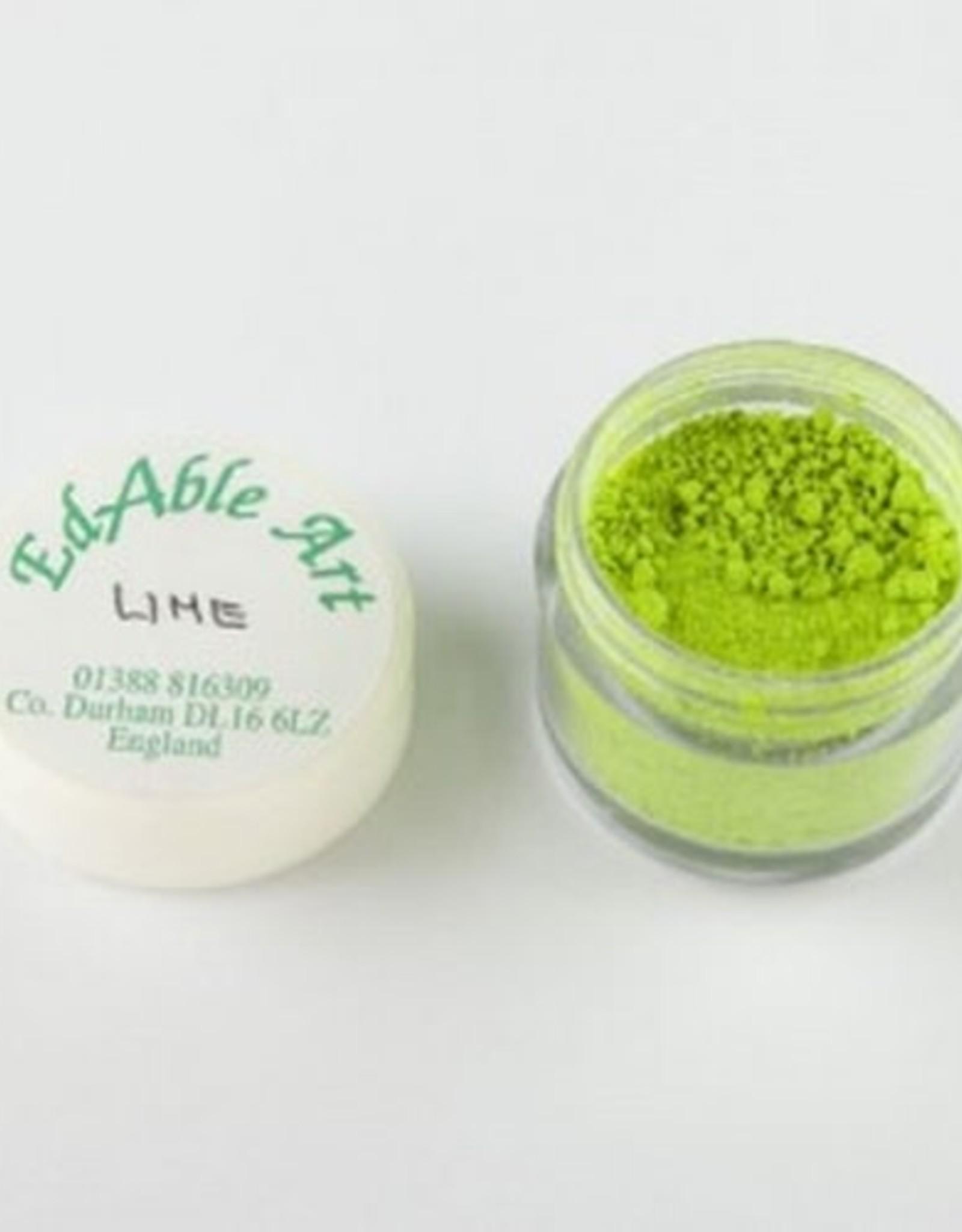 EdAble Art EdAble Art Powdered Colours Lime