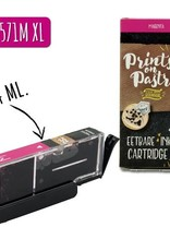Prints on Pastry Eetbare Inkt Cartridge Rood XL (CLI-571M)