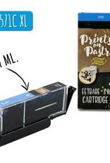 Prints on Pastry Eetbare Inkt Cartridge Blauw XL (CLI-571C)