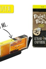 Prints on Pastry Eetbare Inkt Cartridge Geel XL (CLI-571Y)