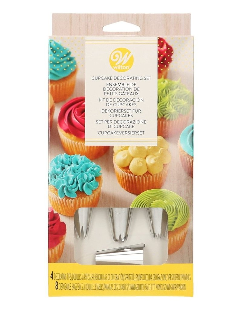Wilton Wilton Cupcake Decorating Set/12