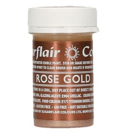 Sugarflair Sugarflair Edible Paint Rose Gold 20g