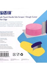 PME PME Side Scraper/Dough Cutter Plain Edge