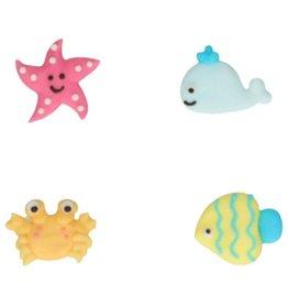 FunCakes FunCakes Suikerdecoratie Sea Life Set/8