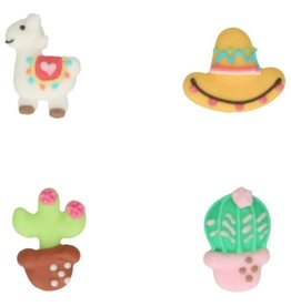 FunCakes FunCakes Suikerdecoratie Alpaca Set/8