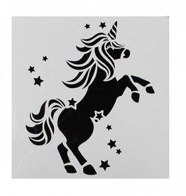 Cake Star Sjabloon Unicorn/Eenhoorn