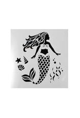 Cake Star Cake Star Sjabloon Zeemeermin/Mermaid