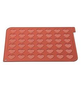 Silikomart Silikomart Heart Macarons Mat
