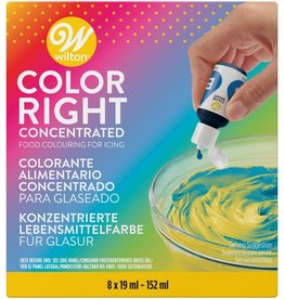 Wilton Color Right Food Color Kit/8