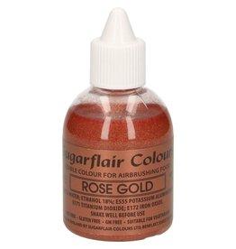 Sugarflair Sugarflair Airbrush Colouring -Glitter Rose Gold- 60ml