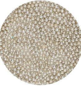 FunCakes Suikerparels Medium Metallic Zilver 800 g