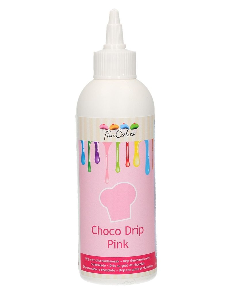 FunCakes FunCakes Choco Drip Pink 180g