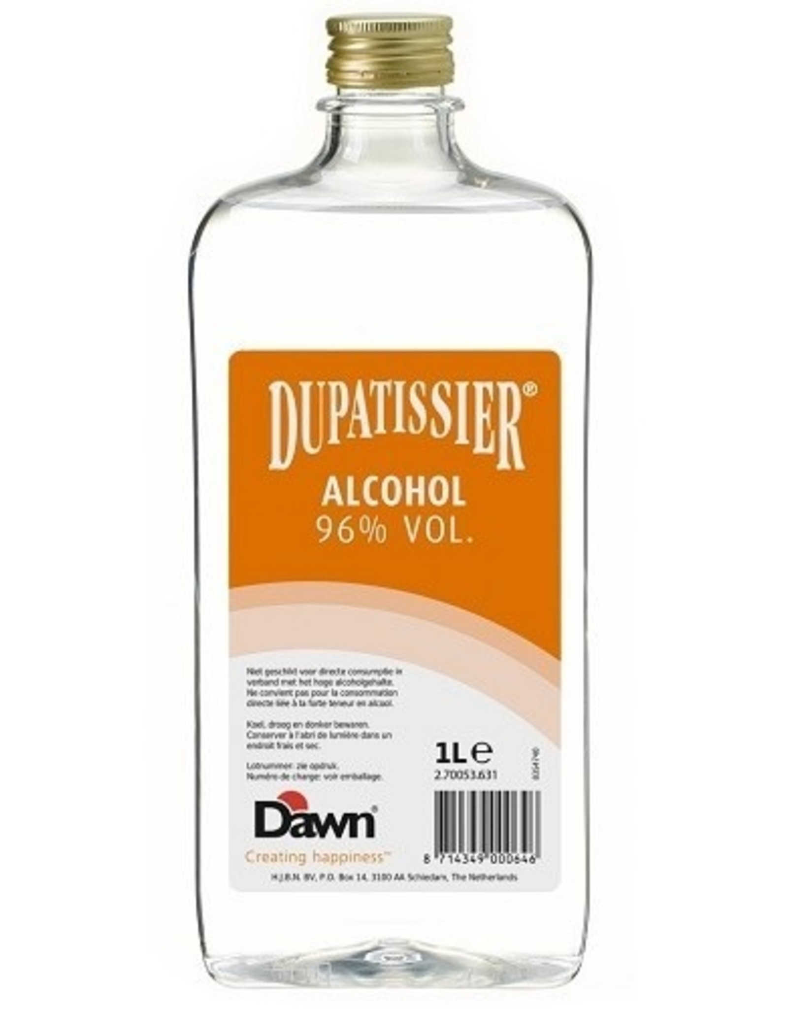 Overig Dawn Dupatissier Alcohol 96% 1liter