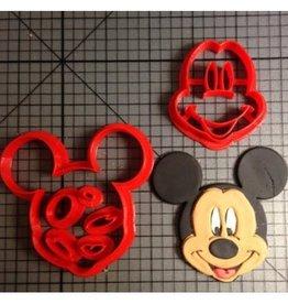 Overig Koekjes uitsteker Mickey Mouse Ø50mm 5-delig