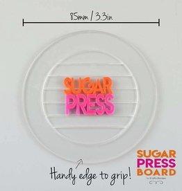 Sugar Press Sugar Press Board Round CupCake