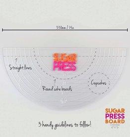 Sugar Press Sugar Press Board Half Circle