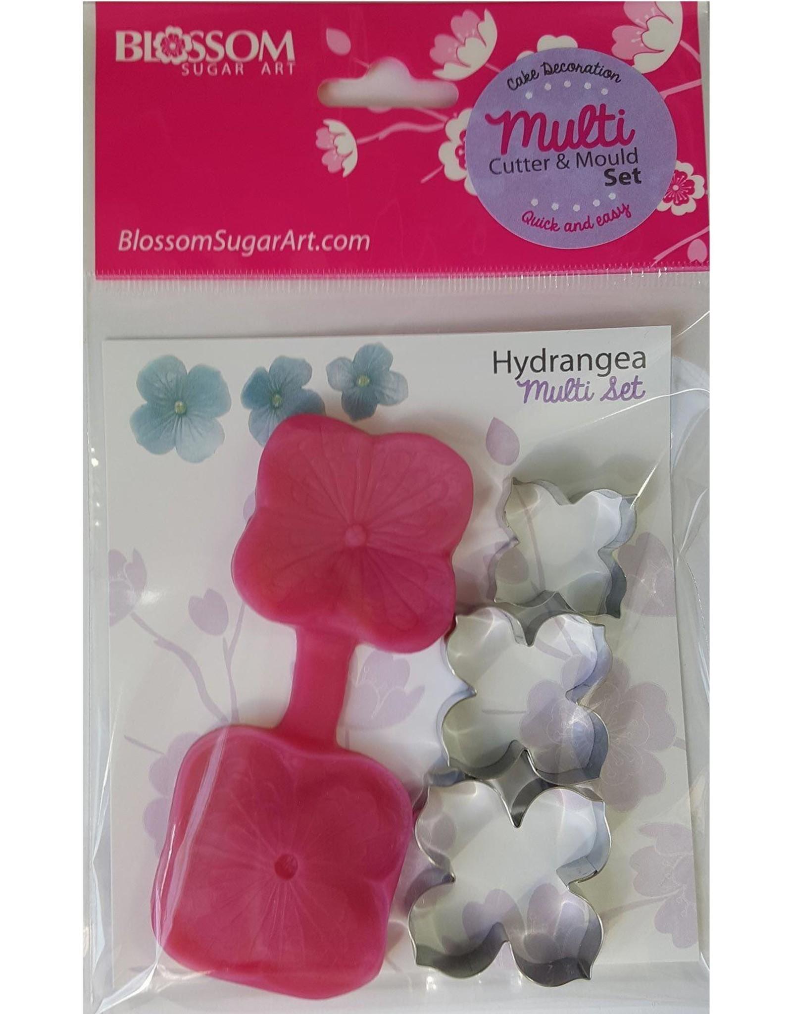 Blossom Sugar Art Blossom Sugar Art Cutter & Mould Multi Set Hydrangea
