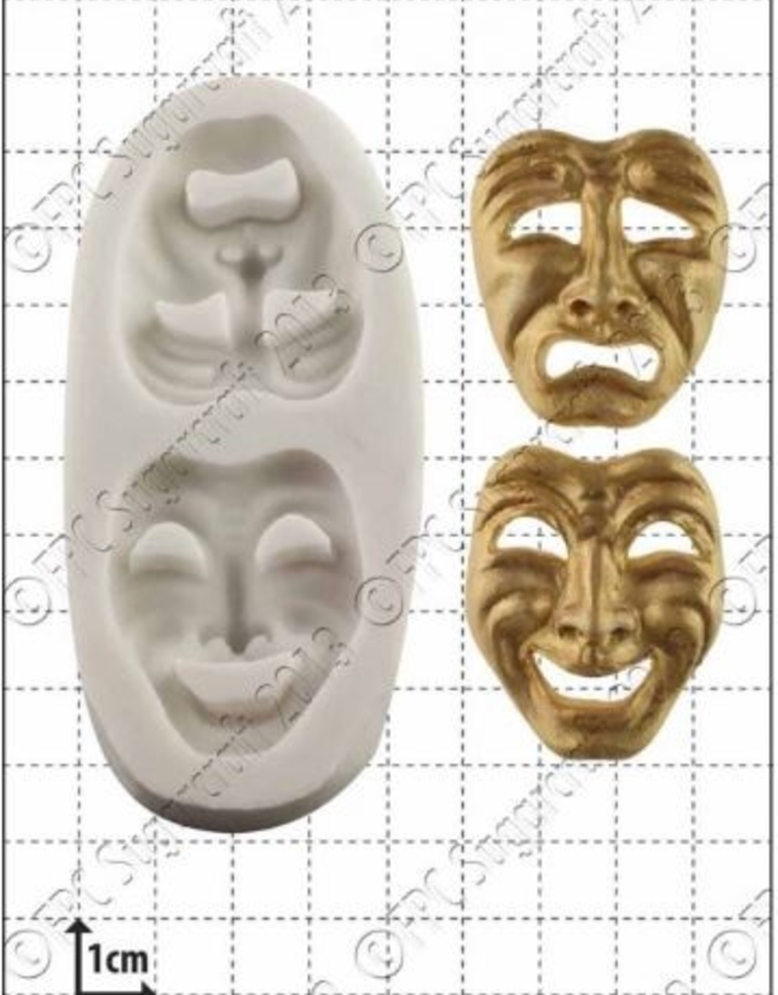 FPC FPC Comedy and Tragedy Masks