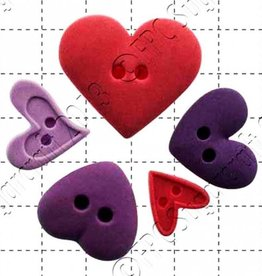 FPC FPC Heart Buttons