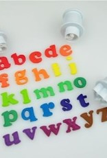 Cake Star Cake Star Push Easy  Alphabet Cutters Lowercase Mini Set/26