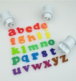Cake Star Cake Star Push Easy  Alphabet Cutters Lowercase Mini Set/26