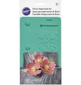 Wilton Wilton Flower Impression Mat Set