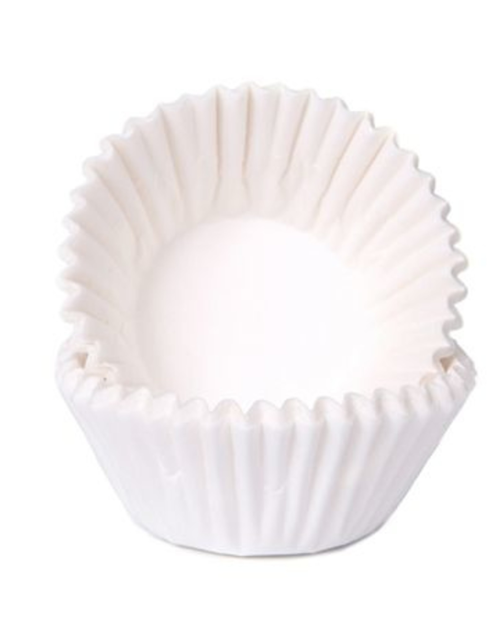 House of Marie House of Marie Chocolade Baking Cups Wit pk/100