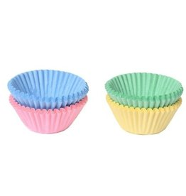 House of Marie House of Marie Chocolade Baking Cups Pastel Assorti Set/100
