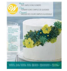 Wilton Wilton How To Pipe Simple Icing Flowers Kit