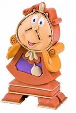 Disney Disney Figuur Belle en het Beest - Pendule (Cogsworth)