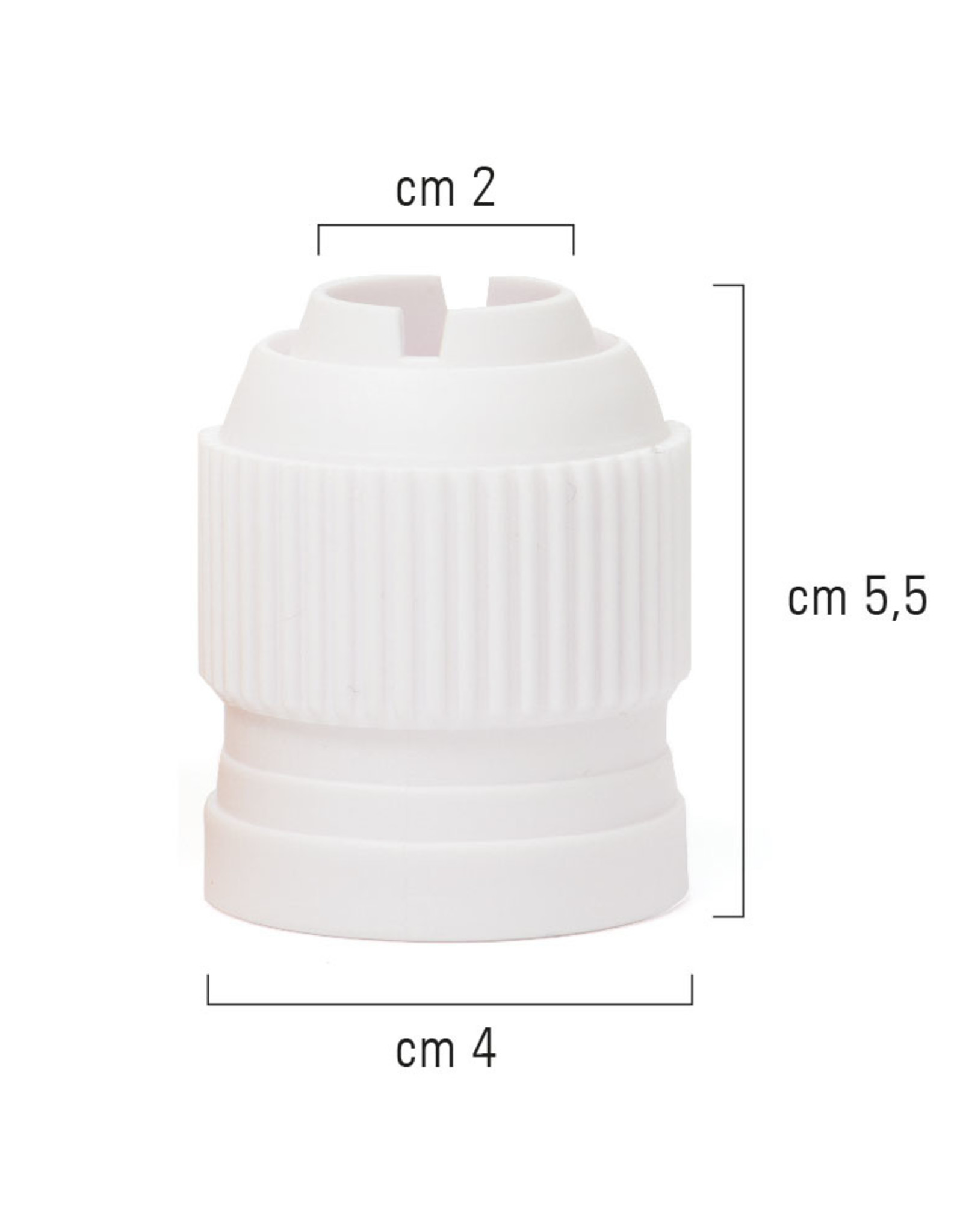 Decora Decora Large Adaptor/Coupler for Russian 3DDecorating Tips