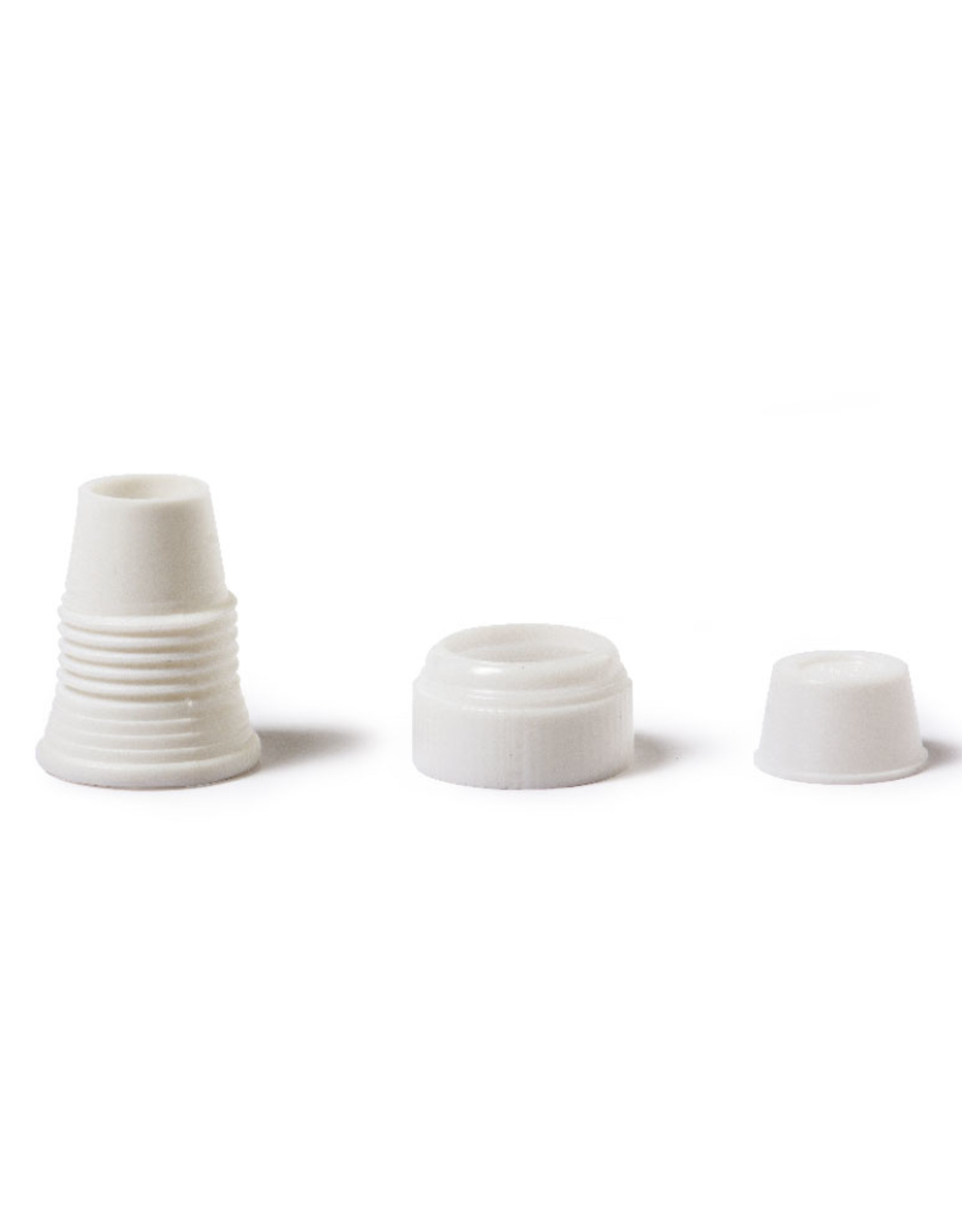 Decora Decora Standard Icing Bag Adapter/Coupler with Cap Set/12