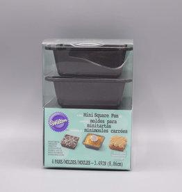 Wilton Wilton Mini Square Pie Pan Set/4